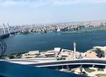 شقه فندقيه للإيجارتشطيب دوبلكس الموقع على النيل