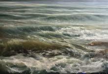 لوحة زيتية قياس 200x150 cm