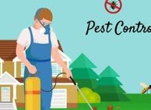 مكافحة حشرات وتنظيف وعزل الخزانات من التسريب
