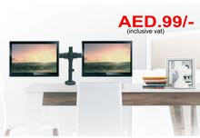Dual Computer Monitor Mounts in Dubai