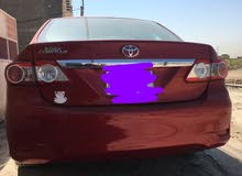 For sale 2013 Maroon Corolla