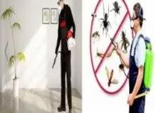 شركة مكافحة الحشرات الصراصير وجميع انواع الحشرات القوارض والزواحف بارخص الاسعار