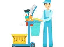 مطلوب موظف تنظيفات ،  في شركة ، بنغازي