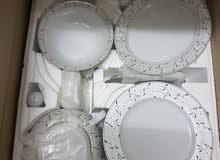 طقم صيني 124 قطعة