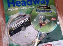 كتاب headway beginner student لتعليم الانجليزي