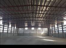 لايجار مخزن 3000 متر مرخص مطافي يصلح جميع الأنشطة