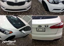 White Kia Forte 2016 for sale