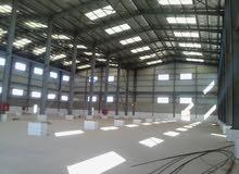 مصنع للبيع نسيج و صباغة فى العبور للبيع  المصنع 2000 متر