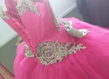 فستان سهرة عرائسي  جديد