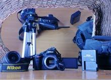 كاميرا nikon d5100 الاحترافية للبيع بسعر مناسب