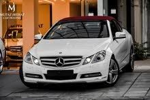 Mercedes E200 2013 Convertible