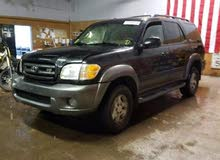 Gasoline Fuel/Power   Toyota Sequoia 2004