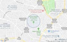 ارض للبيع في الشميساني بجانب مستشفى الشميساني وحديقة الطيور واجهة عريضة