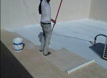 عزل الأسطح/  طراشة ودهان للمنازل / صيانة عامة