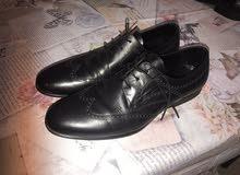 2 احذية رسمية  جلد طبيعي قياس 44 القطعة ب12