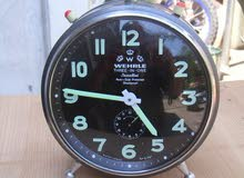 Three-in-one clock / alarm clock - Wehrle - 1960, West Germany