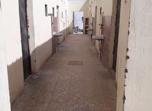 غرف عدد 10 غرف سكن عمال دورات المياه عدد 10 المطابخ عدد 10