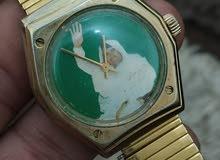 ساعة سويسرية أصلية انتيكا عليها صورة
