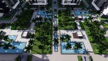 شقة متشطبة و بالتكيفات للبيع بالعاصمة الادارية بكمبوند كاسيل لاندمارك