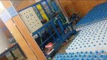 محطة تنقيه وتحليه المياه بالأشعه بعمران