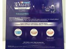 3D White Crest امريكي الصنع