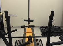 Multi weight bench آلة تمرين متعددة التمارين