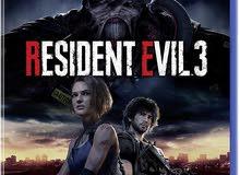 مطلوب: لعبه resident evil 3 remake