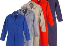 بيع ملابس العمل