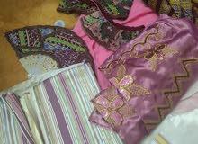 بدلة عربية كبيرة للبيع ملبوسة مرتين