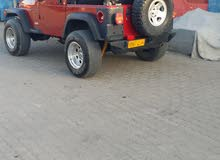 Jeep Wrangler 2005 For sale - Red color