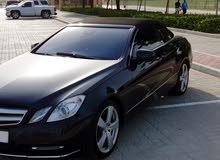 Mercedes E350 lady driven