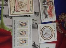 بطاقات سوريه بريديه منوعه 52 قطعه