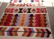 زربية من الصناعة التقليدية المغربية .