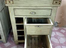 Country Corner antiques Collection - Antique wooden cabinet