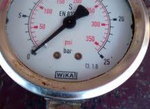 ساعة مؤشر ظغط الزيت (هيدرزلؤك)