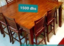 dining table used in RAK.  طاولة سفرة كبيرة مستعملة في راك