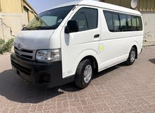 for sale toyota hiace mini bus mid roof 15 seater model 2012 in good condition