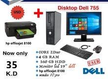 desktop Dell 755