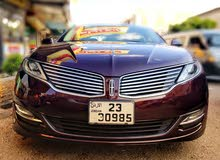 Automatic Maroon Lincoln 2013 for sale