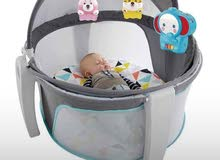 منز طفل مريح الطفل ف النوم مع ألعاب