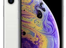 iPhone XS Max 256 GB new with box silver color ايفون ماكس جديد