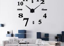 3D high quality wall clock ساعات حائط عالية الجودة