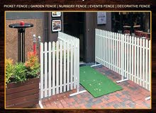 Wooden Fence, Picket Fence, Wall Fence, Privacy Fence.