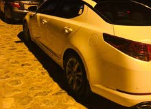 White Kia Optima 2012 for sale