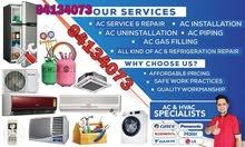 AC muscat repair service gas charging