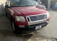 Automatic Maroon Ford 2007 for sale