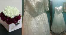فستان زفاف ..