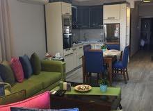 7th Circle neighborhood Amman city - 100 sqm apartment for rent