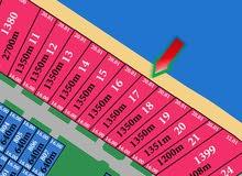 ارض للبيع في مدينة صباح الاحمد البحرية المرحلة الاولي  القسيمة : 17