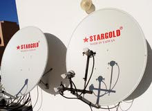 satellite Airtel Dish Arobsat and nilesat dish CCTV camera new fixing call me fr